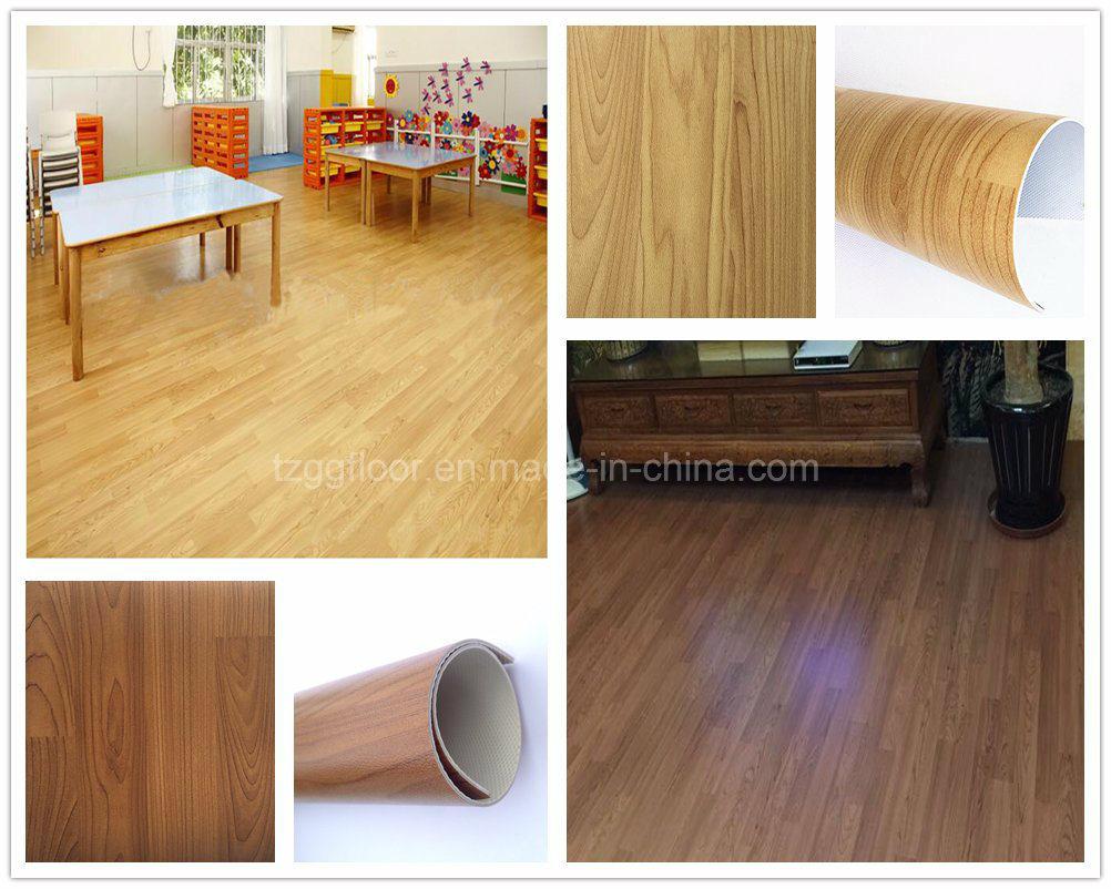 China German Good Quality Waterproof Anti Slip Fireproof Pvc Vinyl Laminate Flooring Plastic