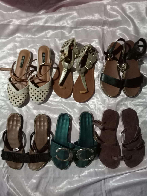 China Hot Sale Ladies′s Sandle Used