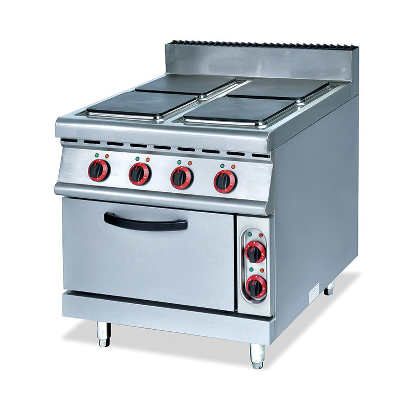 Gas Range With 4 Burner Electric Oven