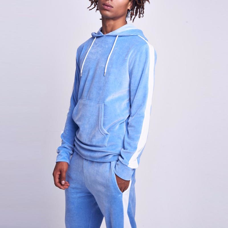 China Fashion Wholesale Custom Hight Quality Blank Velour Tracksuit Men China Jogging Suit And Track Suit Price