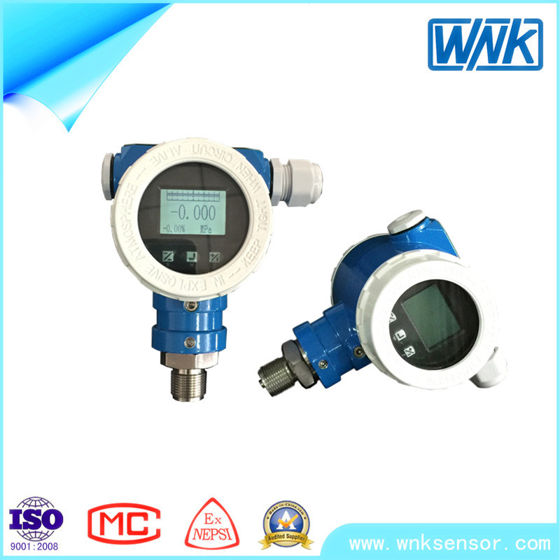 Smart 4-20mA/Hart High Accuracy Pressure Transmitter with LCD Display for Water Tank