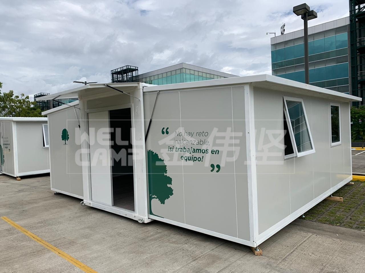 20FT Prefab Portable House Prefabricated Expandable Container House for Office