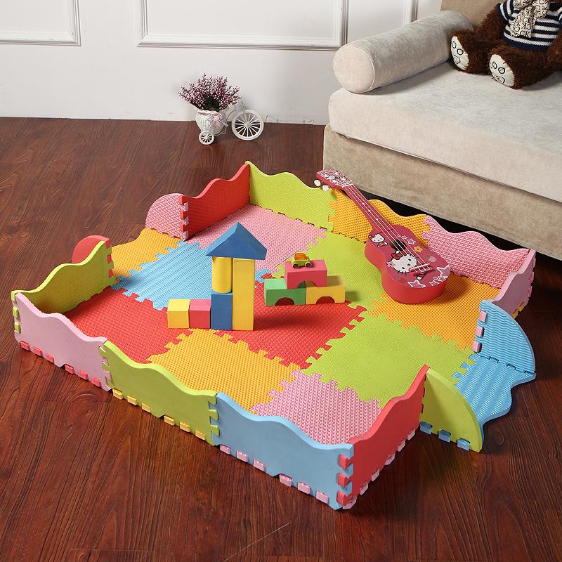China Animal Eco Soft Foam Tile Interlocking Kids Play Puzzle Eva