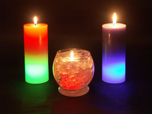 china digital led christmas candle gift printer un so mn101e china rainbow candle led candle - Led Christmas Candles