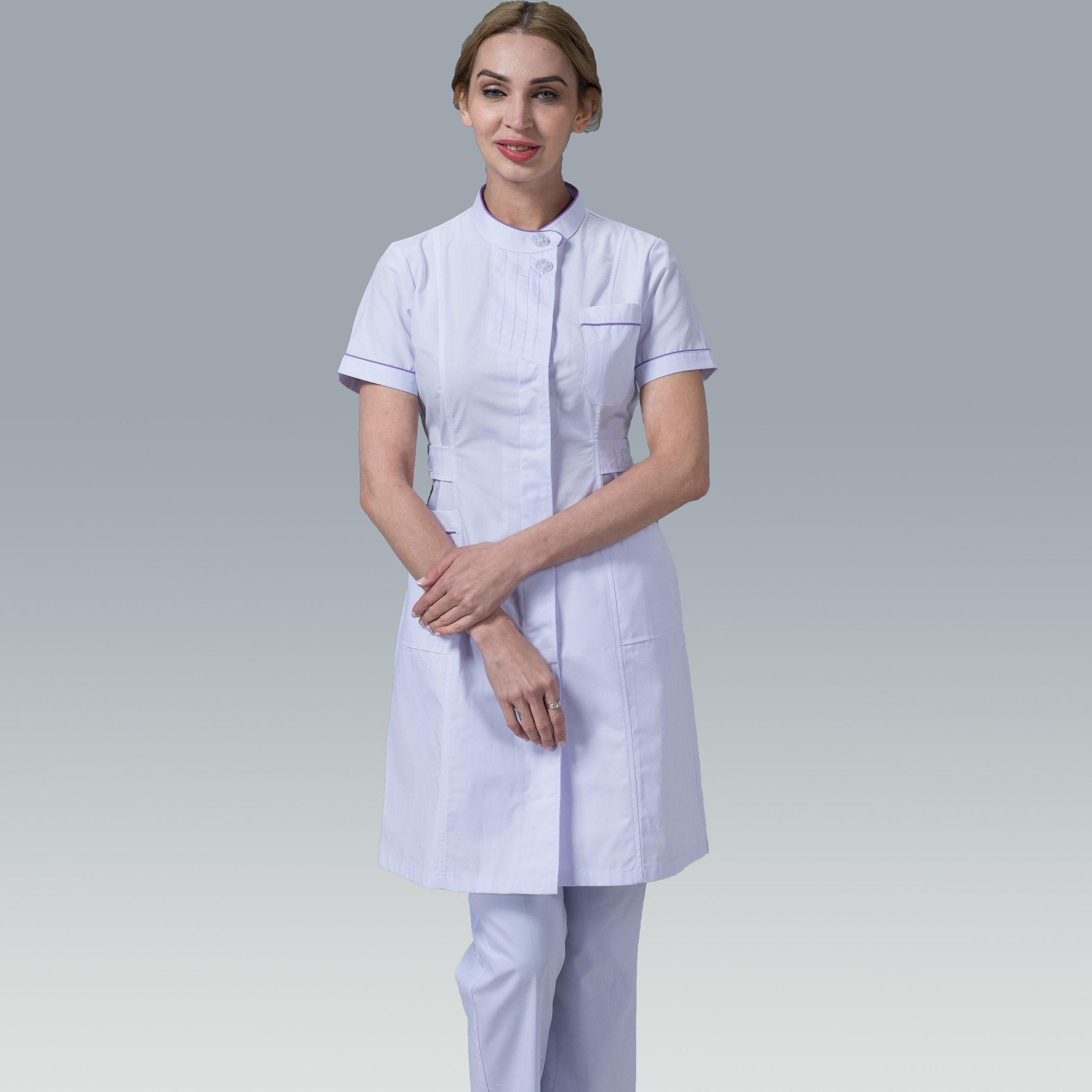 6f593949fc5 China New Style Medical Use Polyester/Cotton Stand-Collar Nurse Scrub Suit  Design - China Nurse Scrub Suit Design, Stand-Collar Nurse Scrub Suit