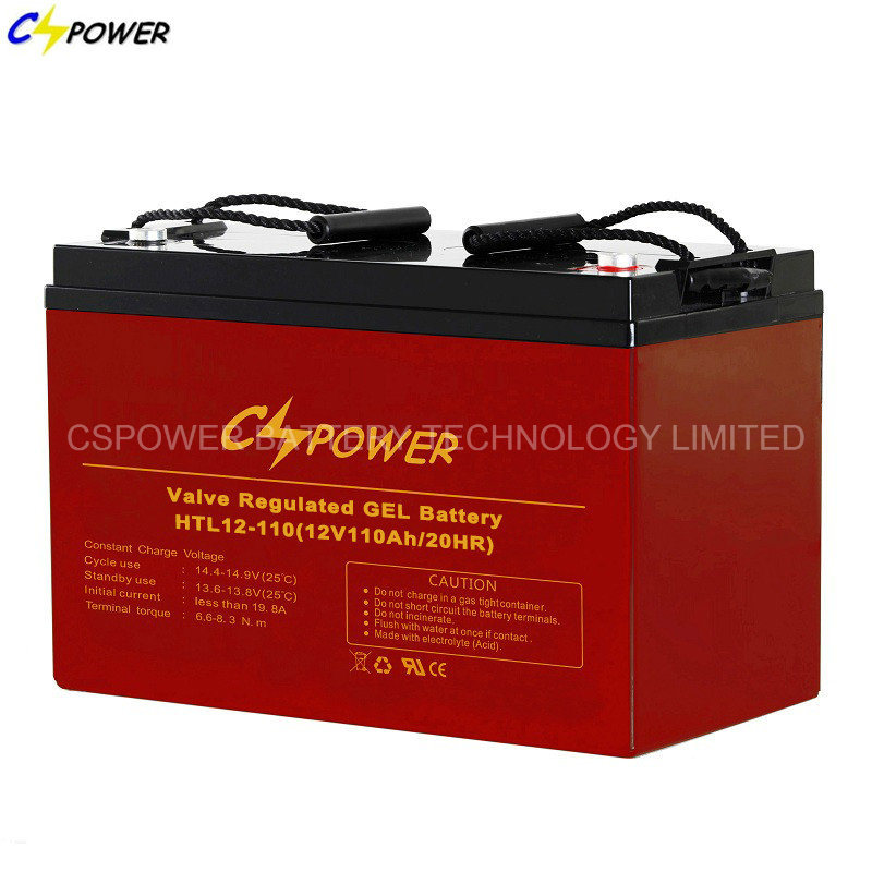 12V100ah High Temperature Deep Cycle Solar Gel Battery for Middle East and Africa pictures & photos