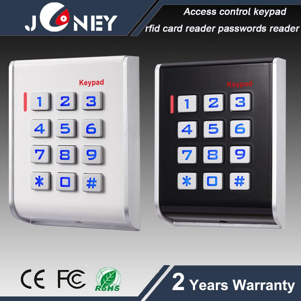 China Rfid Card Passwords Access Control Keypad With Alarm Led Burglar