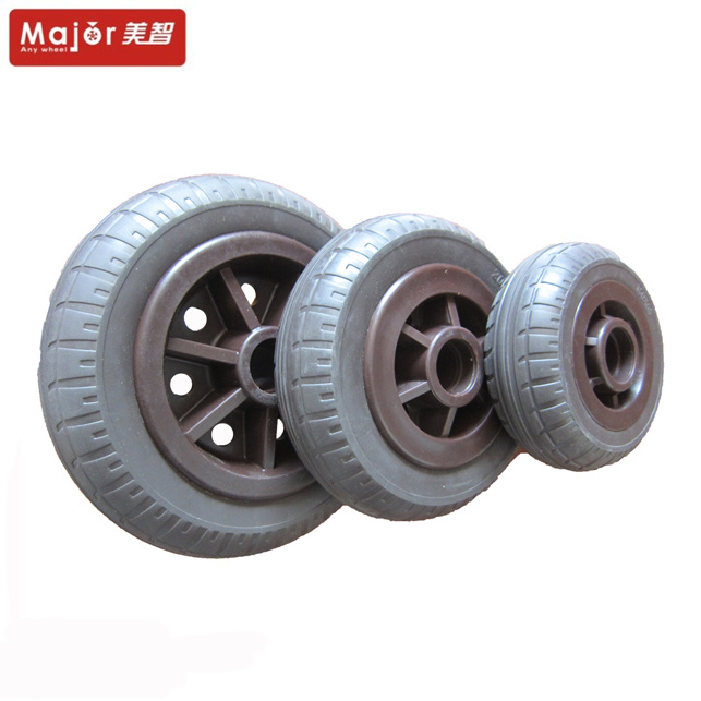 Heavy Duty Industrial Caster Wheel Solid Rubber Tyre pictures & photos