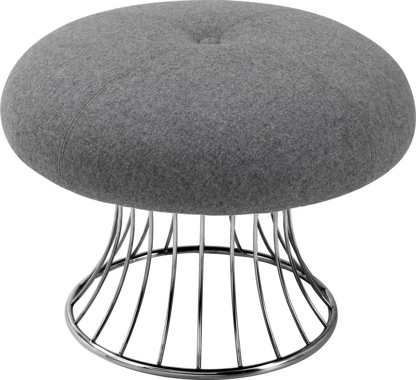 Hot Item Modern Casual Ottoman Chair For Living Room Hotel Home Furniture Metal Frame