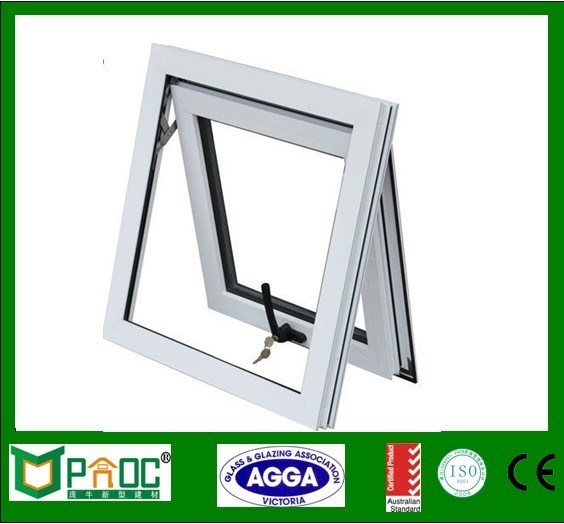 China Aluminium Awning Top Hung Window With Double Glass Pnoc0047thw China Top Hung Window Awning Window