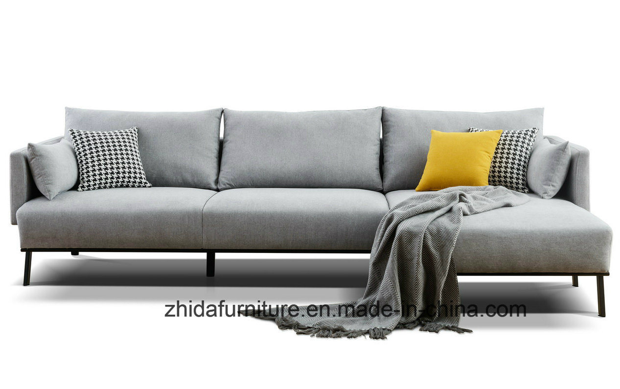 Customize L Shaped Sectional Sofa For Hotel Or Home Used