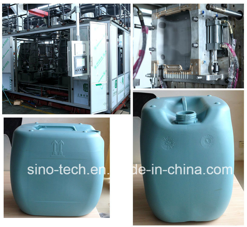 15L-20L-25L-30L HDPE Plastic Jerry Can Tank Container Drum Extrusion Blowing Mould /Blow Molding Machine pictures & photos