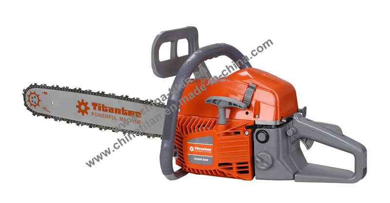 58cc Powerful Gasoline Chain Saw for Woodcutting Tt-CS5800-2 pictures & photos