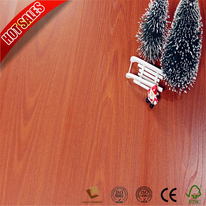 China Homebase High Gloss Laminate Flooring Commercial Ac4 Ac5 Hardwood Building Material