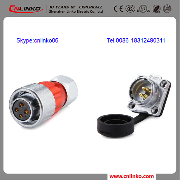 China Electrical Wire Connector Types 4pin 20A Electrical Wiring ...