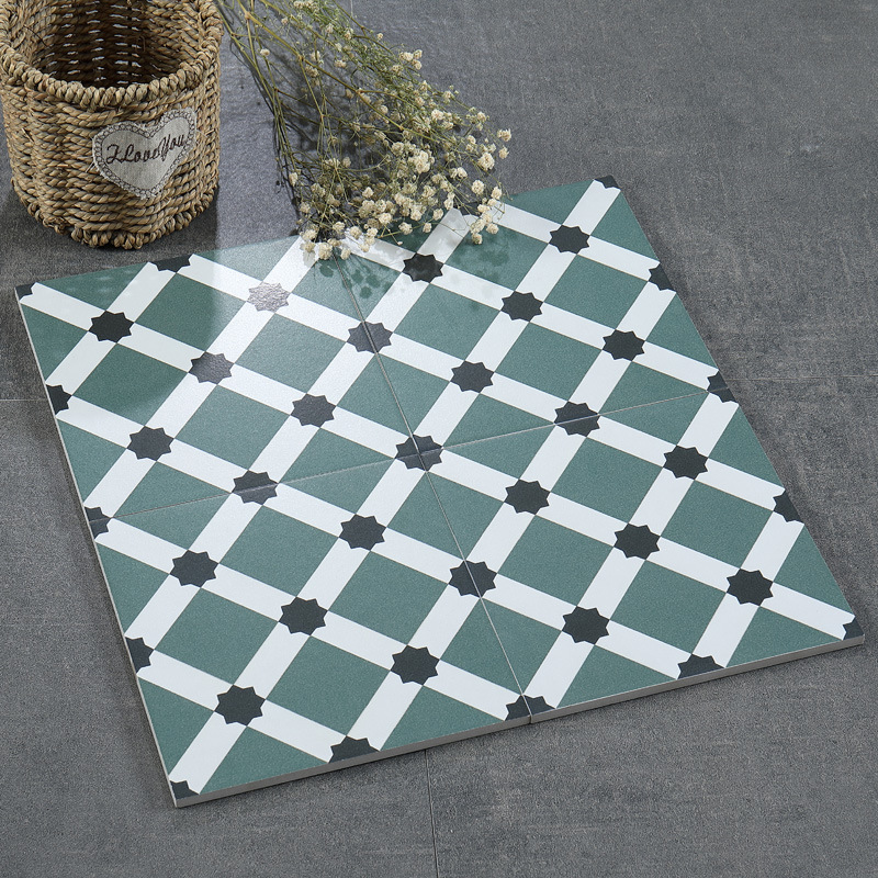 China Vietnam Pattern Restaurant Kitchen Wall Cement Tile Floor