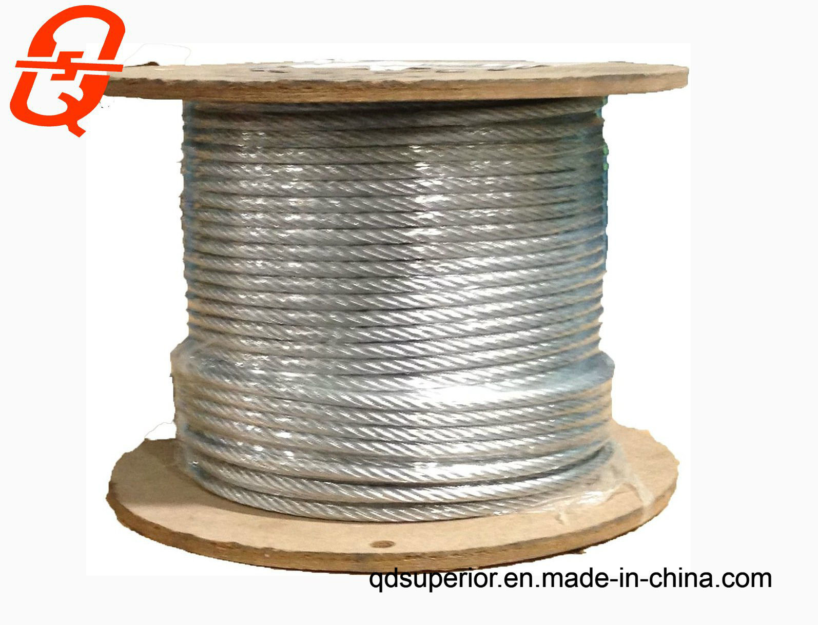 China Stainless Steel Wire Rope Raw Material AISI304 and AIS316 ...