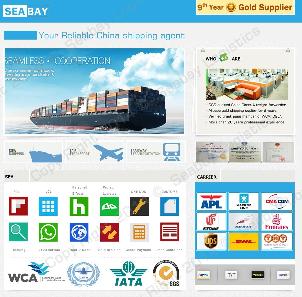 [Hot Item] Newest Sea Shipping Logistics Company China to USA