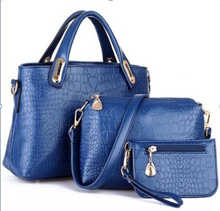 Fashion Classic 3pcs Pu Leather Designer Handbags Xm051
