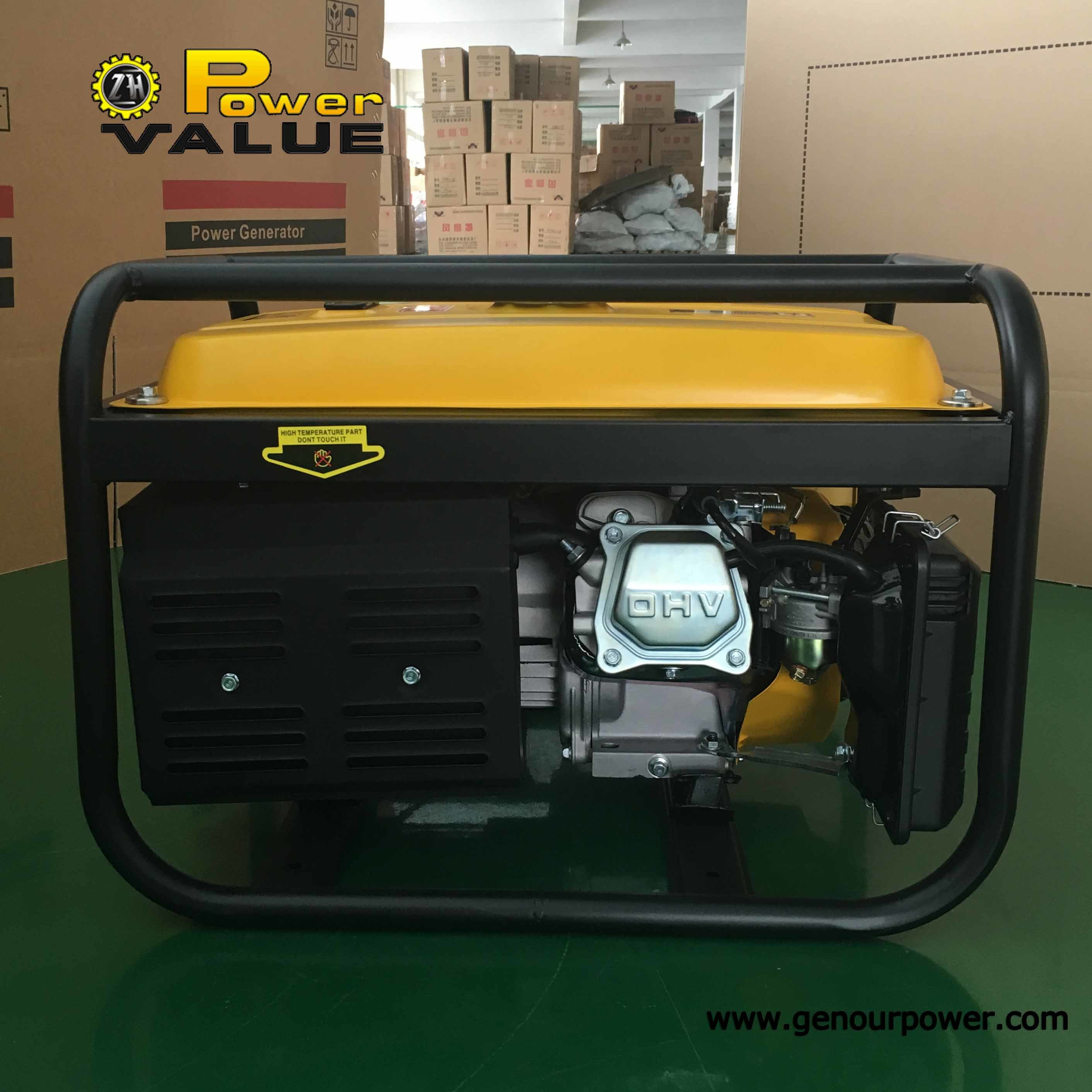 Home Silent Power Portable Gasoline Electric Generator Generator Set pictures & photos