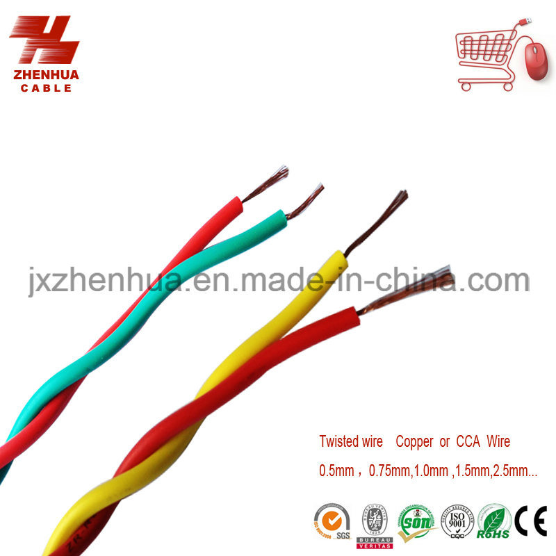 China Rvs Type Twisted Copper Core PVC Insulated Soft Cable and Wire ...
