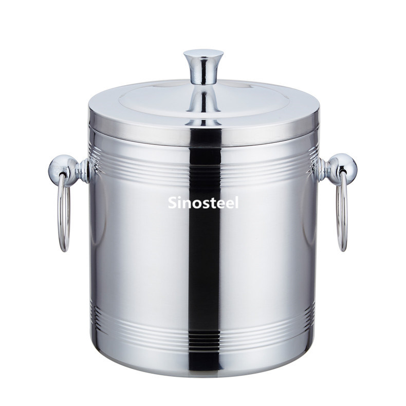 Double Wall Stainless Steel Ice Bucket/Metal Ice Bucket pictures & photos