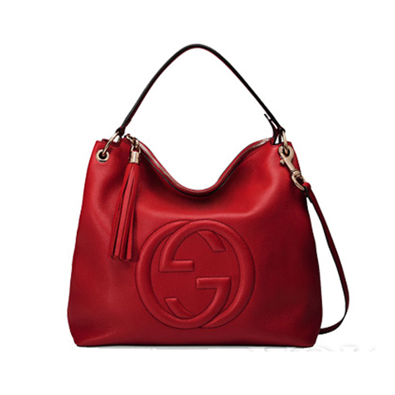 Red Ladies Shoulder Handbag Kk005