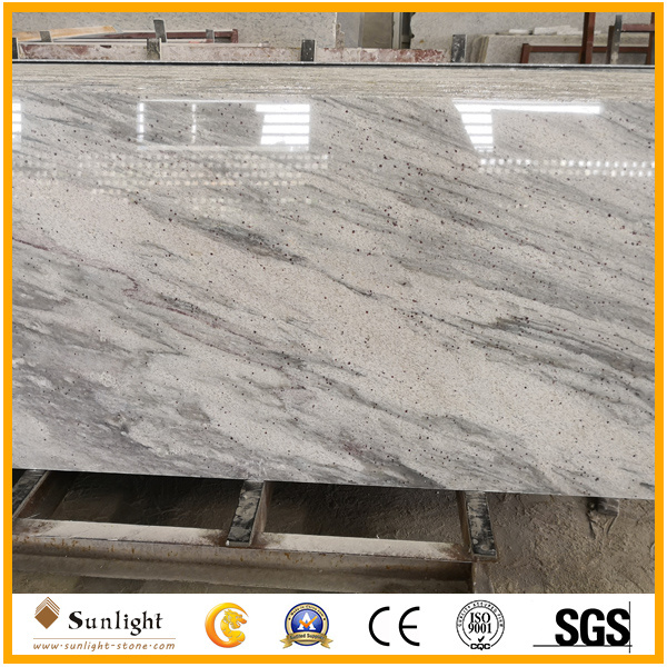China Polished River White Granite Slab For Kitchen Bathroom