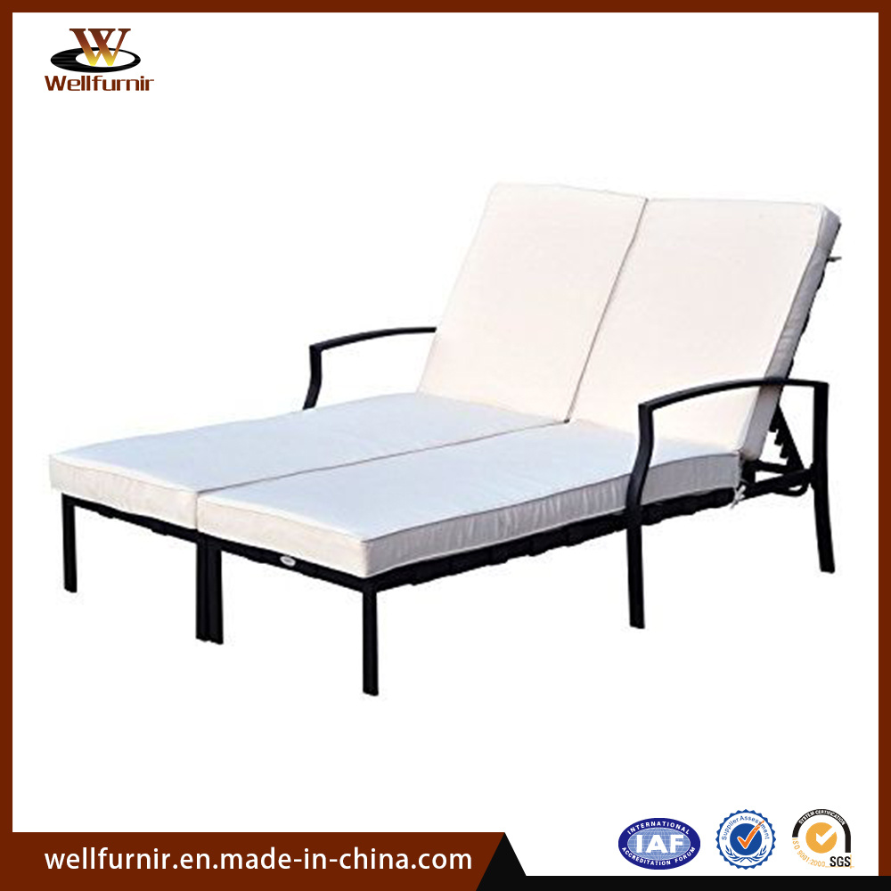- China Promotions Outdoor Leisure Adjustable Double Chaise Sun