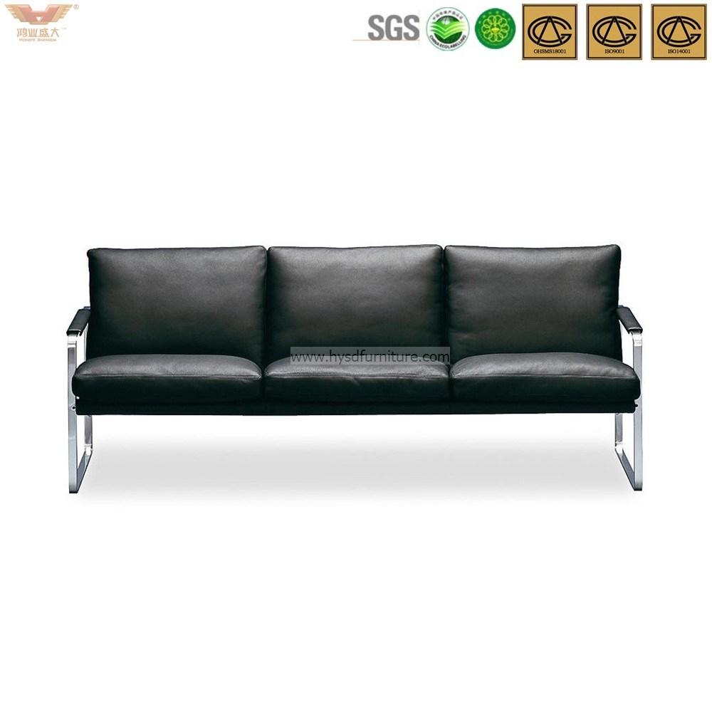China 3+1+1 Modern Office Leather Sofa - China Lounge Seating ...