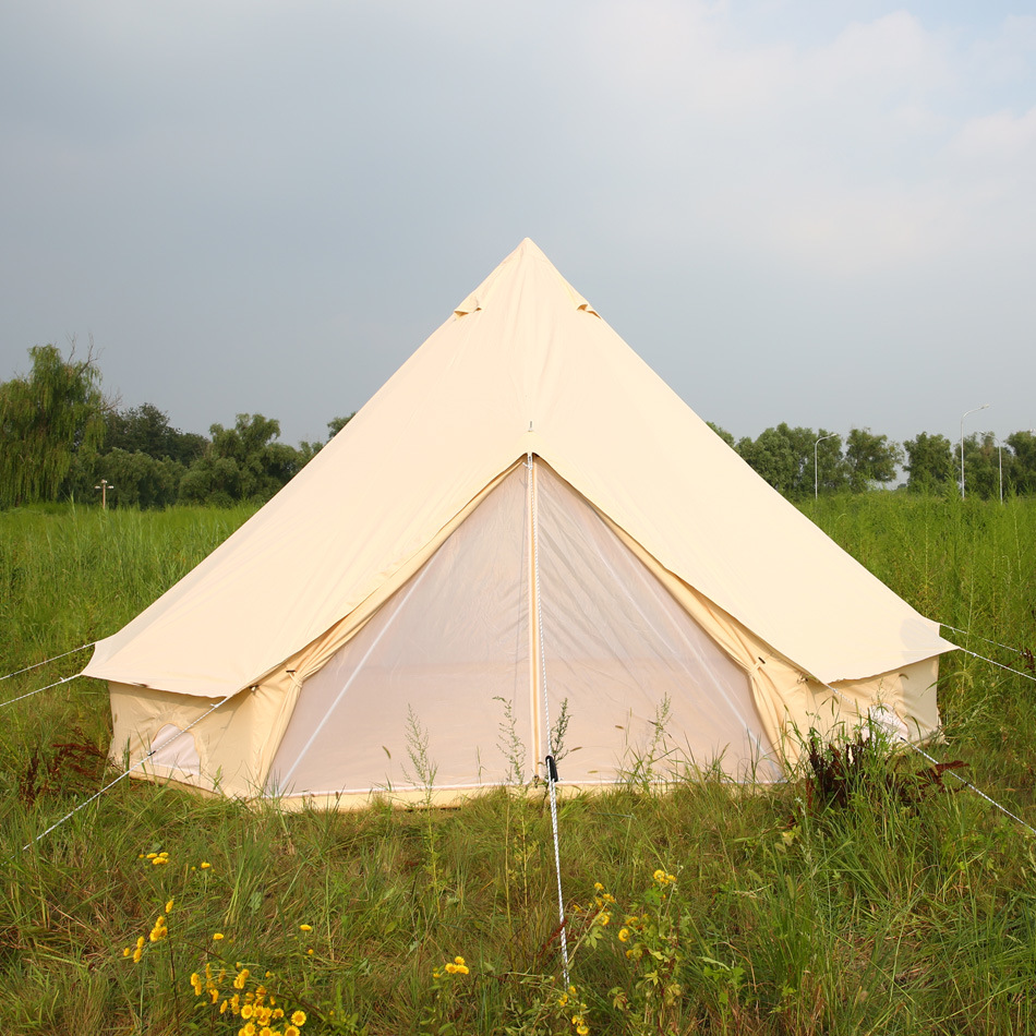 China Indian Teepee Tents Outdoor Canvas Bell Tent for ...