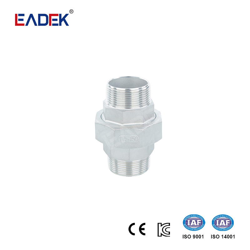 Stainless Steel Union Fitting Cast Pipe Union Fitting DN6
