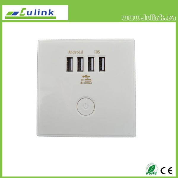 China Hot Sale Multi Type USB Intelligent Socket/USB Outlet/USB Wall ...