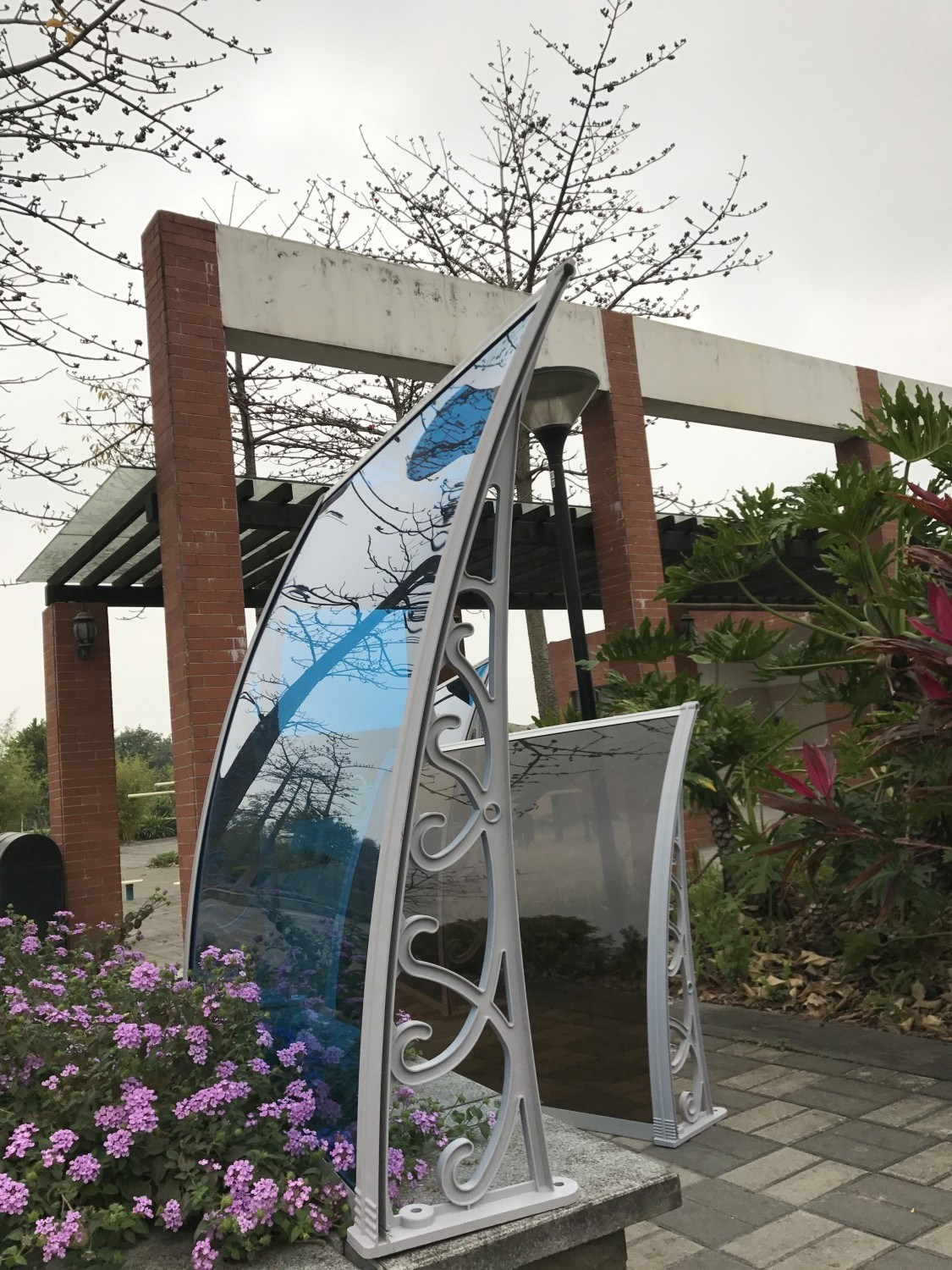 Popular Manual Polycarbonate Canopy for Gazebo Made in China pictures & photos
