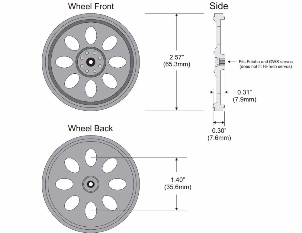 China Plastic Wheel for 360 Degree Continuous Rotation