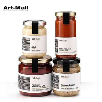 China Different Sizes Food Grade Mini Jam Glass Cheap Honey Jar With