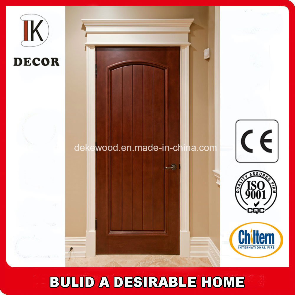 China Latest Design Panel Solid Wood Interior Doors Wholesale Photos