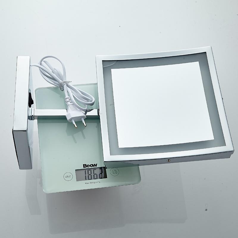 Freestanding Bathroom Mirror Led Light
