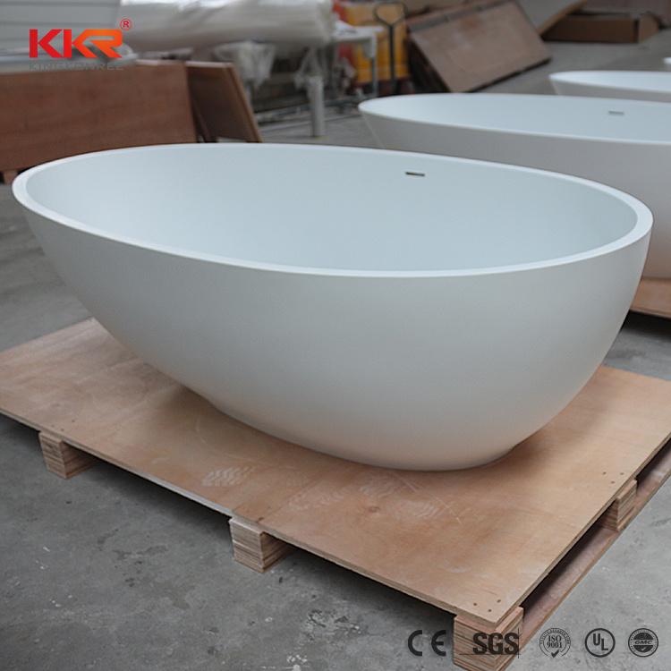 China Wholesale European Freestanding Stone Bathtub Solid Surface ...