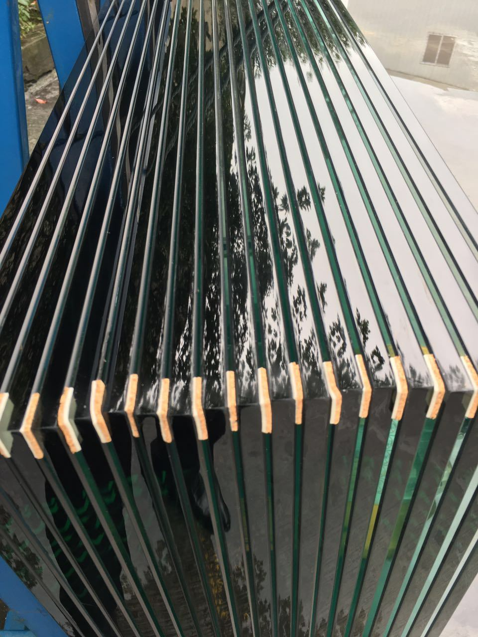 China Toughened Resistant Self Explosion Glass With Heat Soak Tested