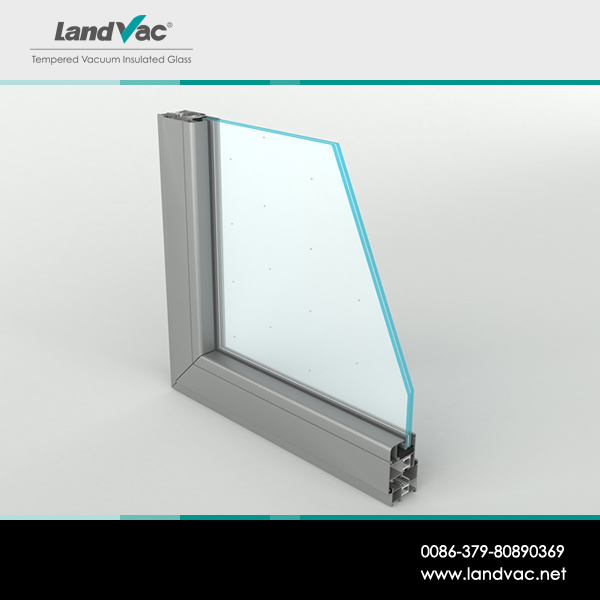 Landvac Decorative Clear Toughened Vacuum Insulated Construction Glass pictures & photos