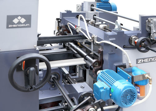Four Corner Pasting Machine