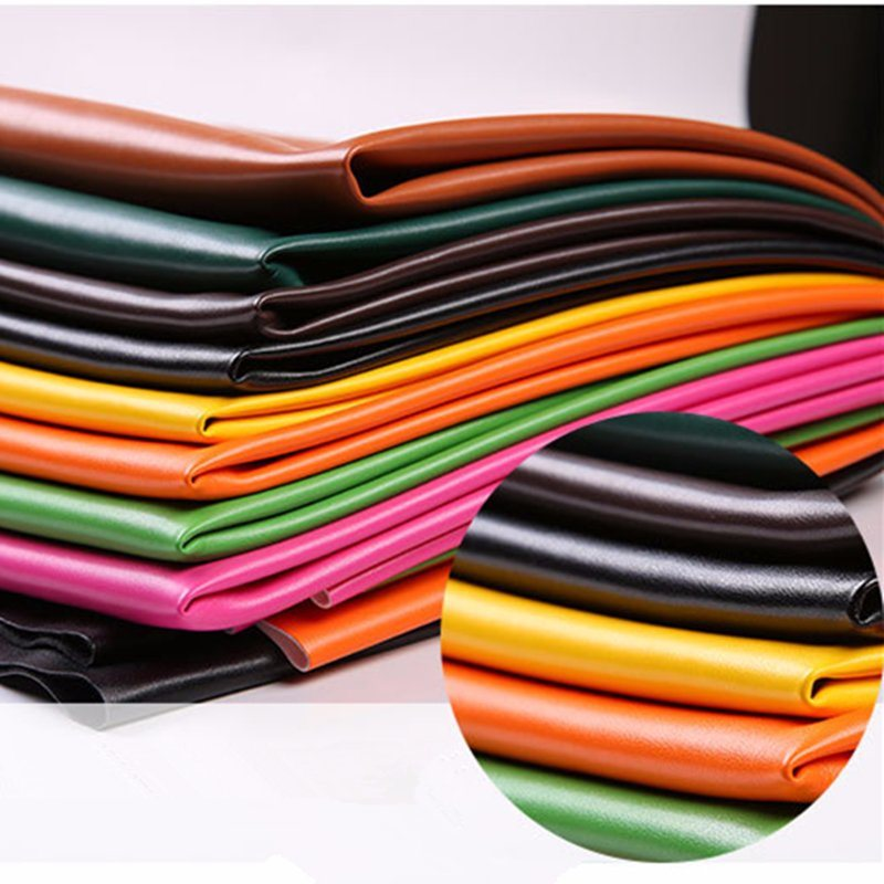 Colorful Synthetic Leather for PU Pants Jackies (HST389) pictures & photos