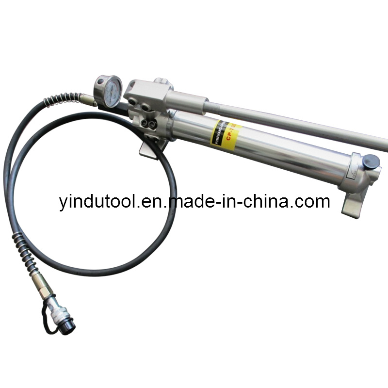 High Quality Aluminum Alloy Hydraulic Hand Pump (CP-700A) pictures & photos