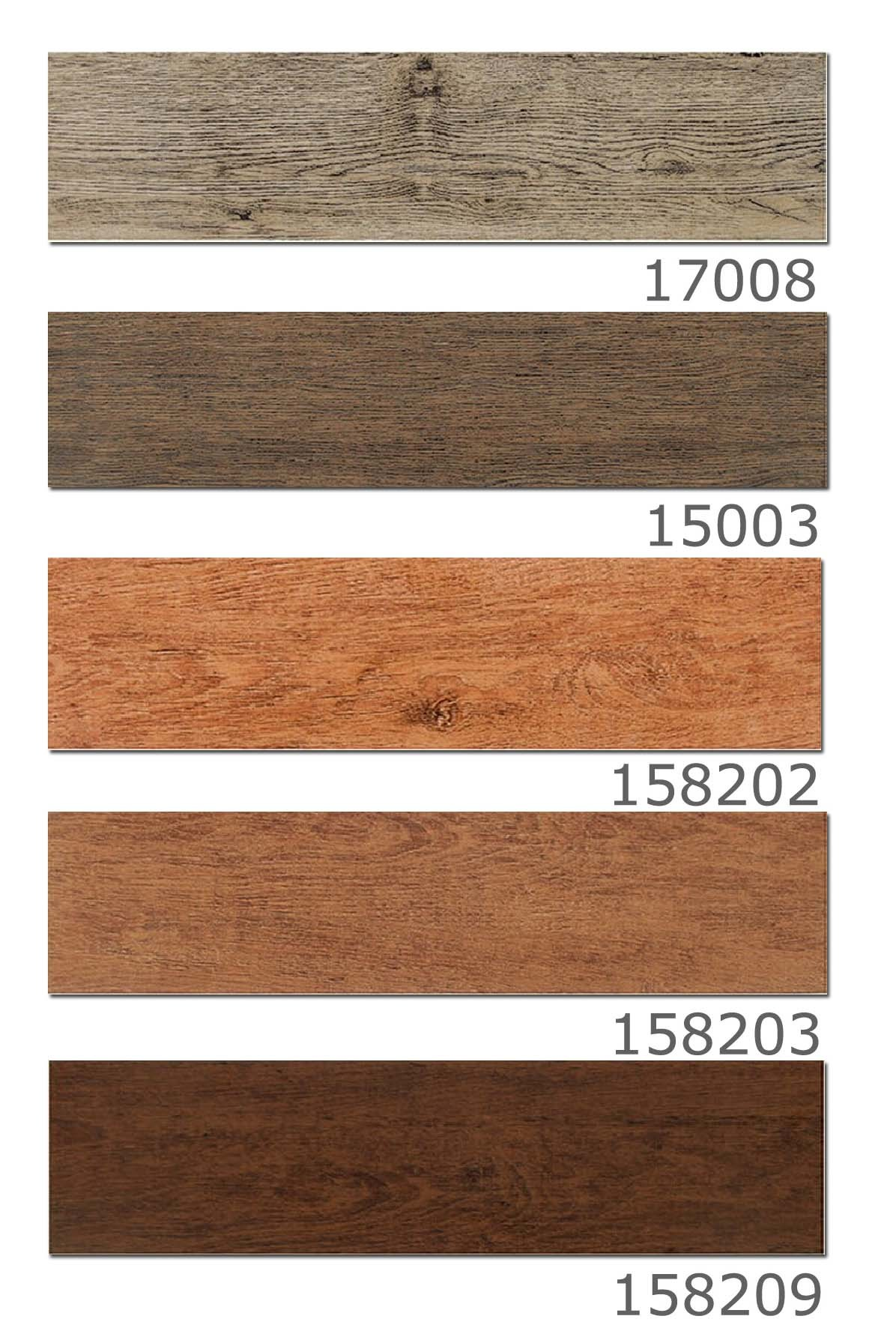 China Rustic Ceramic Wood Plank Tile