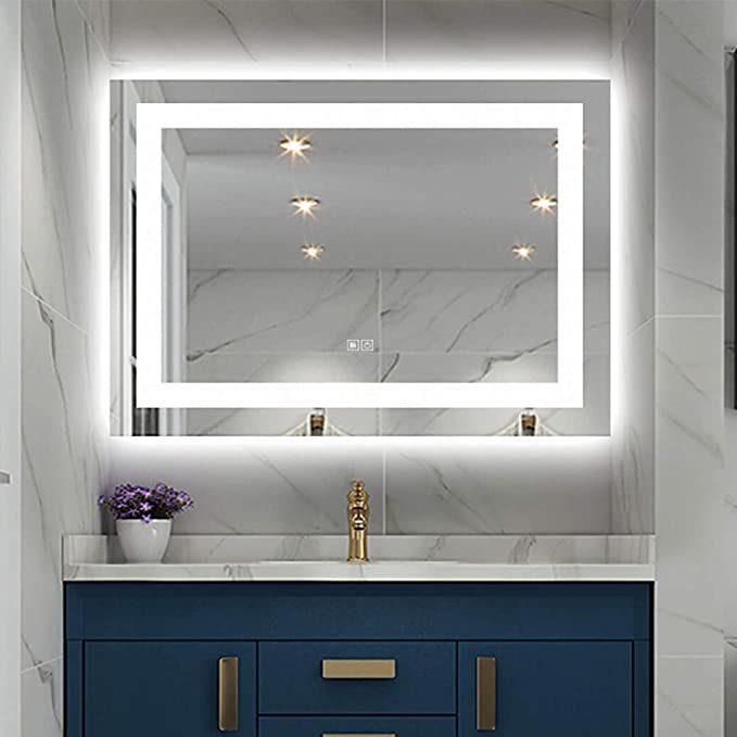 Led Bathroom Wall Mounted Mirror 20, Bathroom Vanity Mirror With Lights