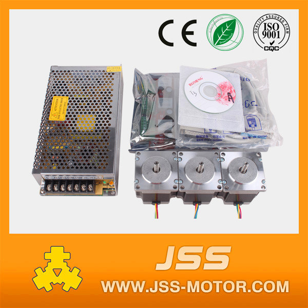 NEMA 23 Stepper Motor with Power Supply, Driver Board Tb6560