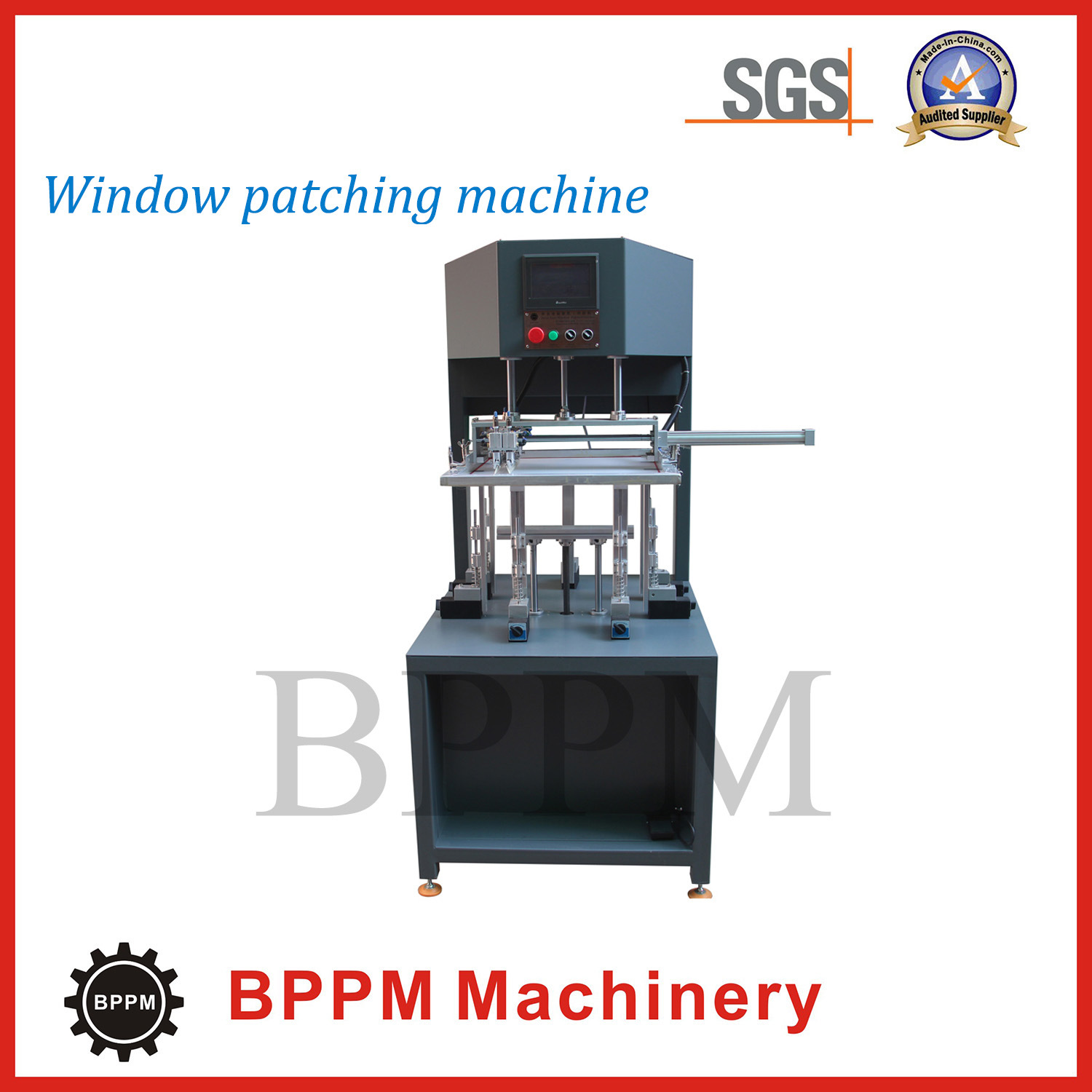 Carton Box Window Patching Machine, Window Pasting Machine