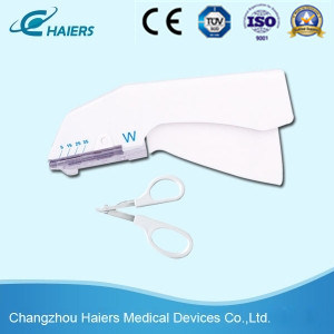 Disposable Surgical Stapler for Skin Suture