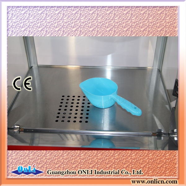 Hot Sale 8 Oz Automatic Old Fashioned Electric Commercial Kettle Caramel Popporn Maker Popcorn Making Machine with Cart Price pictures & photos